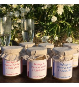 Small personalized pots of...