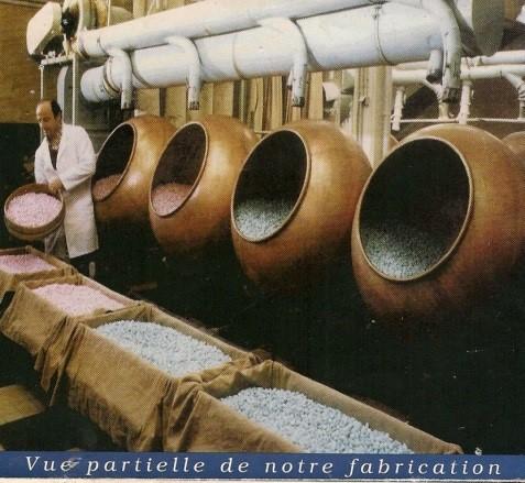 Fabrication de Dragées
